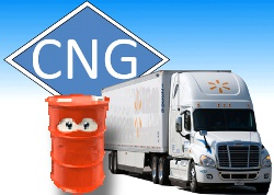 Natural Gas Trucks - has the time come?